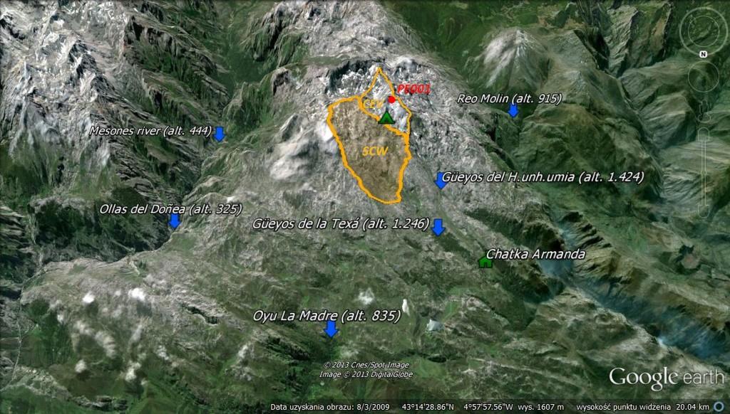 Barwienie (źr. Google Earth, oprac. M.Jędrzejczak)