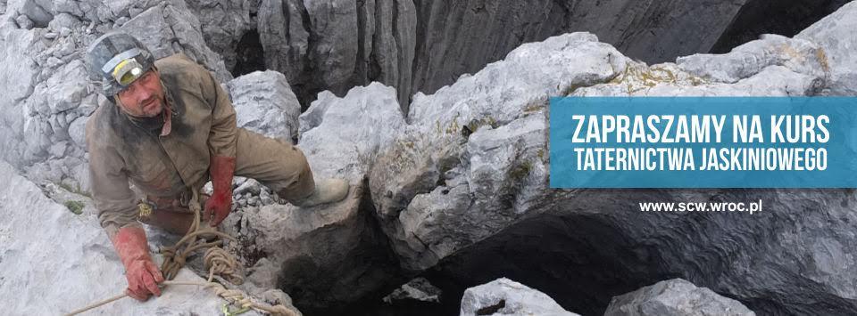 kurs taternictwa jaskiniowego - baner