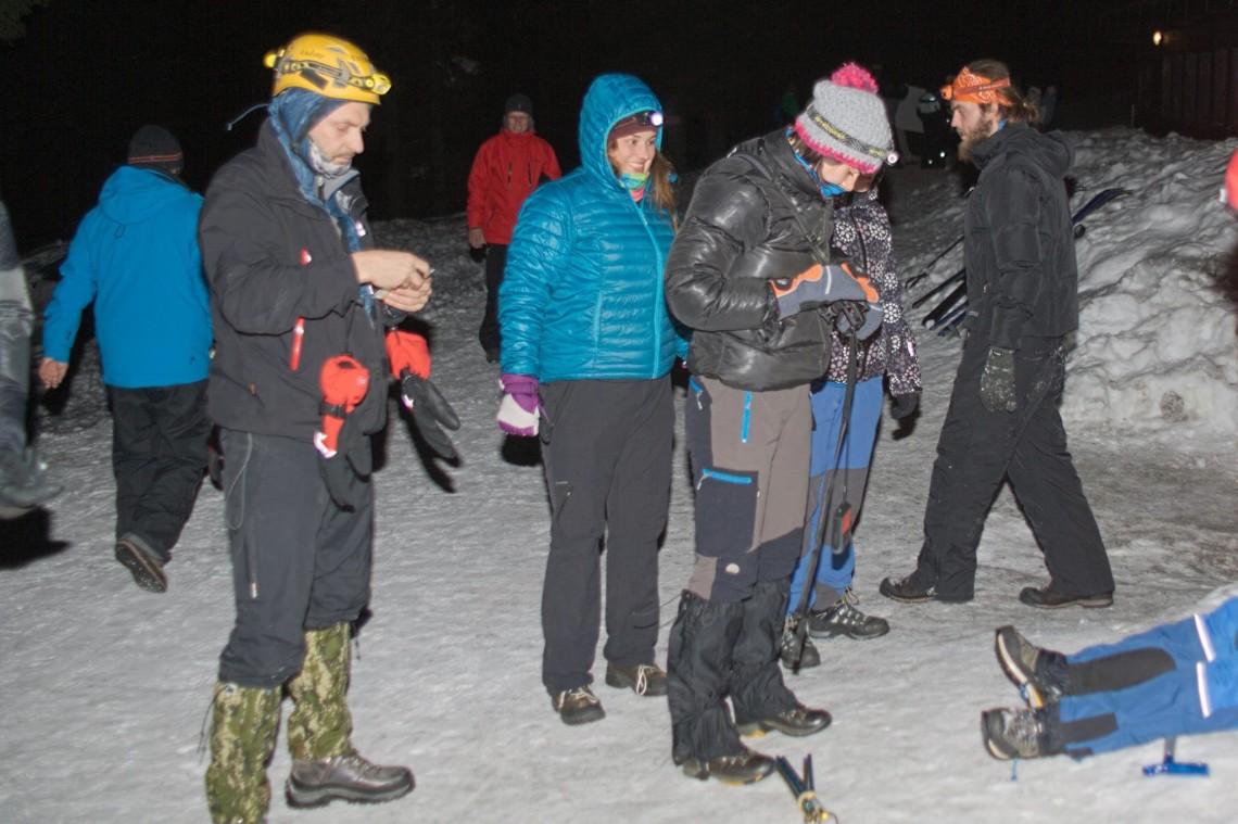 Wieczorne ćwiczenia z detektorami, fot. Tomasz Jach