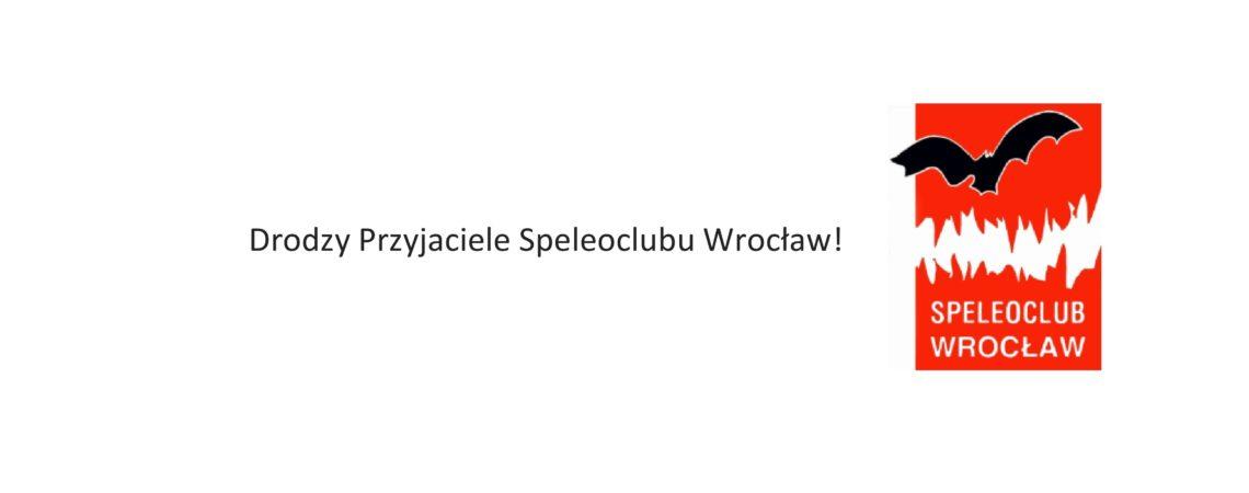 List do Przyjaciół i Sympatyków Speleoclubu Wrocław